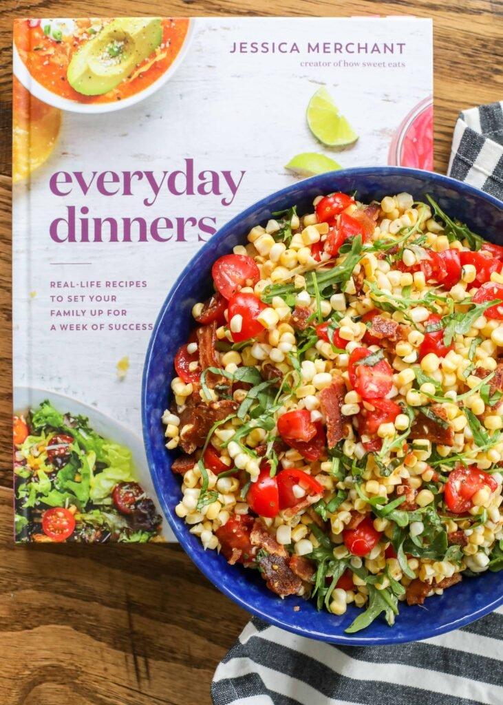 Receta de ensalada de maíz BLT de Everyday Dinners