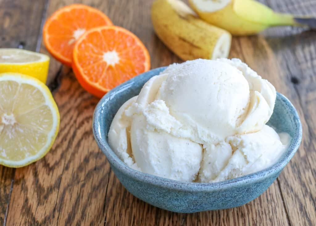 Seis recetas de helado de tres partes