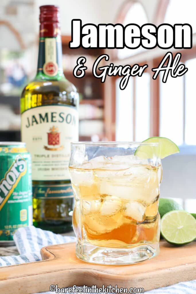 Soda de jengibre original de Jameson