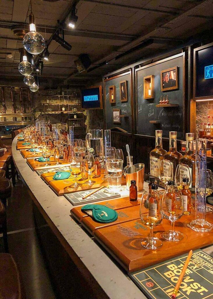 Tour Jameson Whisky Maker en Dublín, Irlanda
